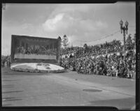 Laguna Beach float at Tournament of Roses, Pasadena Parade, 1939
