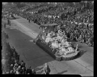 South Gate float at Tournament of Roses Parade, Pasadena, 1939