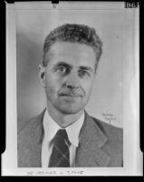 Chemistry professor Hosmer W. Stone is to teach at the University of Denmark, Los Angeles, 1939