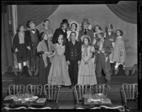"Cast of ""The Drunkard,"" Los Angeles, 1938"