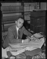 H. C. Veit, chief attorney for the Veterans Administration, Los Angeles, 1938