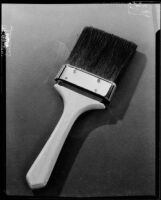 "Paint brush photograph used for an advertisement for ""Savabrush,"" 1925-1939"