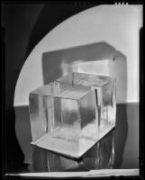 Block of ice for an icebox, 1930-1937