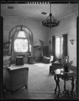 Room at the Pierce Brothers Mortuary, Los Angeles, 1925-1939