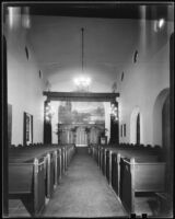 Chapel at the Pierce Brothers Mortuary, Los Angeles, 1925-1939