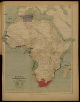 Africa. European possessions in 1884, before the Berlin Conference