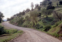Chile - Country road, between 1966-1967