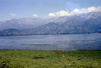 Chile - Landscape with water and mountains, between 1966-1967
