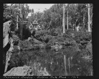 Pond in the Japanese Village, Golden Gate Park, San Francisco, 1913