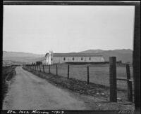 Mission Santa Inez, Solvang, 1913