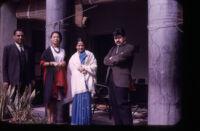 Sharon Rani and husband; Hazel Hood, R. Garfias; New Delhi Conference 1964