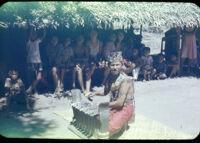 Mario playing gender; Tabanan, Bali 1957