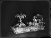 """Fete Day in Spain"" float at the Electrical Parade in the Memorial Coliseum, Los Angeles, 1932"