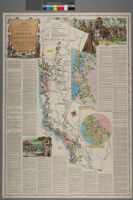 Map of the missions, presidios, pueblos, and some of the more interesting ranchos of Spanish California : together withthe routes of the principal land explorations therein